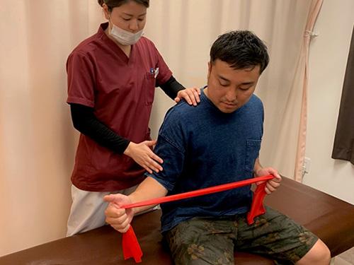 筋力トレーニング(インナーマッスル)